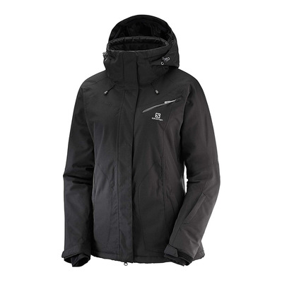 SALOMON - FANTASY - Veste ski Femme black heather