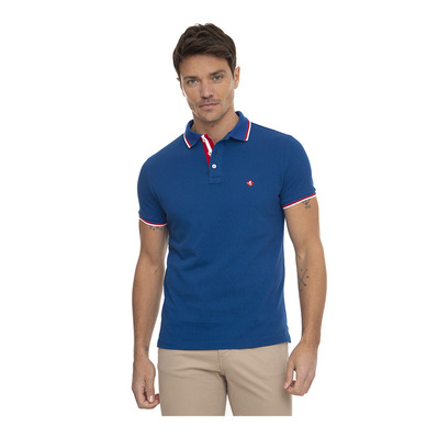 SIR RAYMOND TAILOR - STEPPER - Polo Homme royal blue