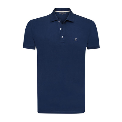 SIR RAYMOND TAILOR - SI6447284 - Polo homme navy/ecru