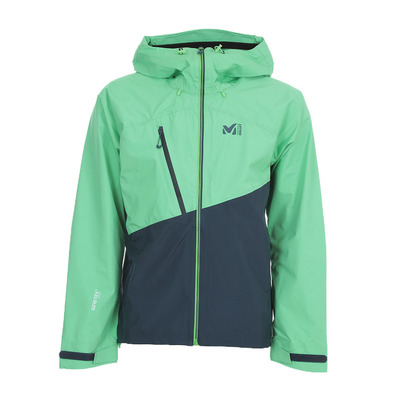 MILLET - ELEV ONE GTX JK 2019 - Chaqueta hombre orion blue/flash green