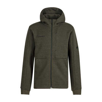 MAMMUT - DYNO ML - Sweat Homme dark iguana melange
