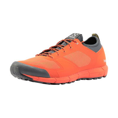 HAGLOFS - L.I.M LOW - Zapatillas de senderismo hombre flame orange/magnetite