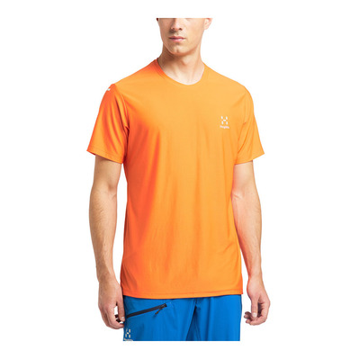 HAGLOFS - L.I.M TECH - Camiseta hombre flame orange