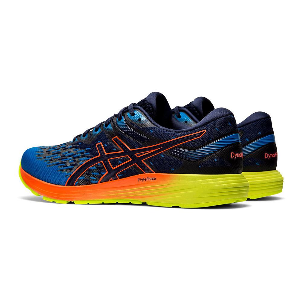 ASICS Asics DYNAFLYTE 4 - Chaussures running Homme peacoat/flash ...