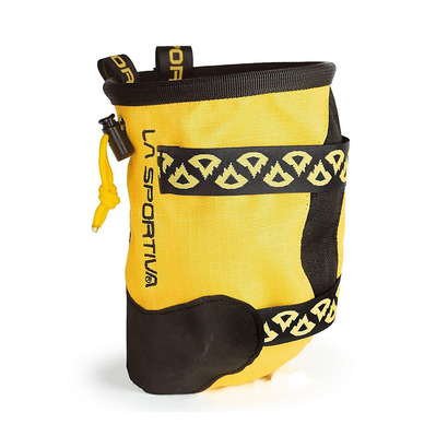LA SPORTIVA - CHALK BAG KATANA - Portamagnesite yellow/black