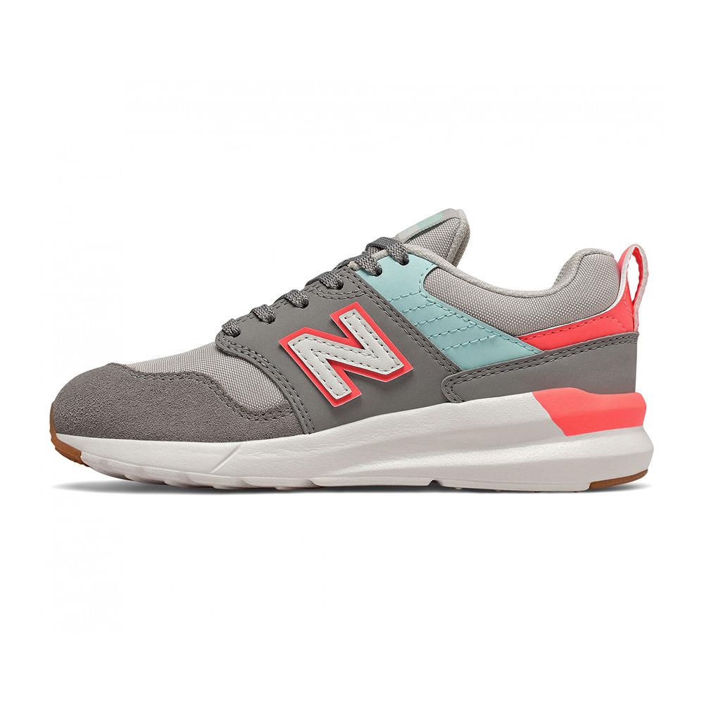 NEW BALANCE New Balance YS009-RC1 - Trainers - Junior - grey/red ...