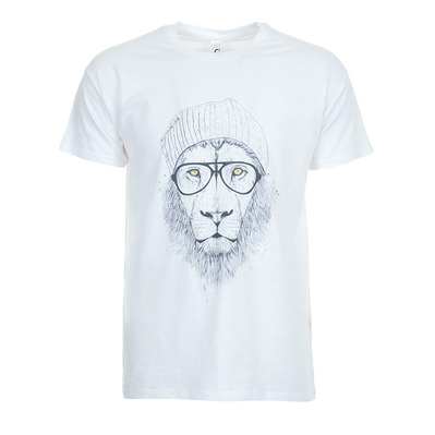 SOLTIB DESIGN - COOL LION - T-Shirt - Men's - white