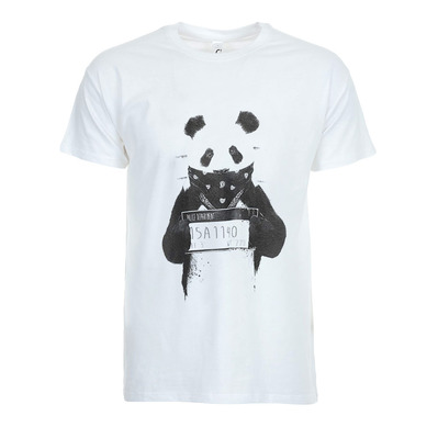 SOLTIB DESIGN - BAD PANDA - T-Shirt - Men's - white