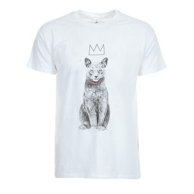 SOLTIB DESIGN - KING OF EVERYTHING - T-Shirt - Men's - white