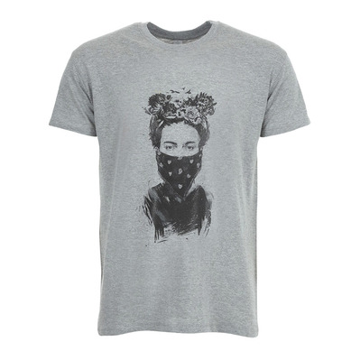 SOLTIB DESIGN - REBEL GIRL - T-Shirt - Men's - heather grey
