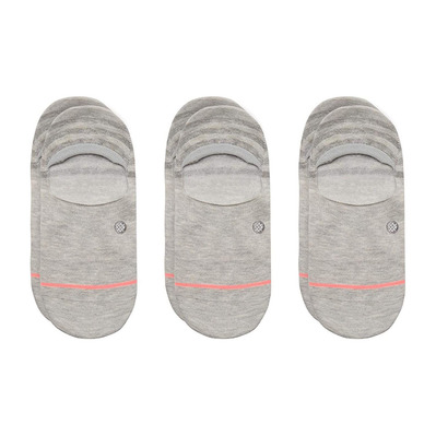 STANCE - UNCOMMON - Ankle Socks x3 - Women's - grey