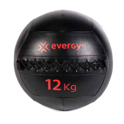 EVERGY - B011000N 12kg - Wall Ball - black/red