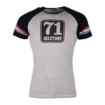 HELSTONS - TS 71 - T-Shirt - Männer - grey/black