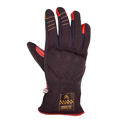 HELSTONS - ONE LADY HIVER - Gloves - Women's - black/red