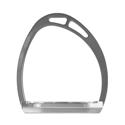 EQUITALY - PLUS UP SPIN ALUMINIUM - Stirrups - grey