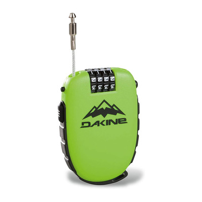 DAKINE - COOL LOCK - Padlock - green