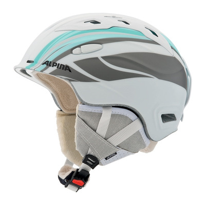 ALPINA - SNOW MYTHOS - Ski Helmet - white/mint mat