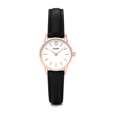 CLUSE - LA VEDETTE 24 - Quartz Watch - Women's - white/pink gold/black