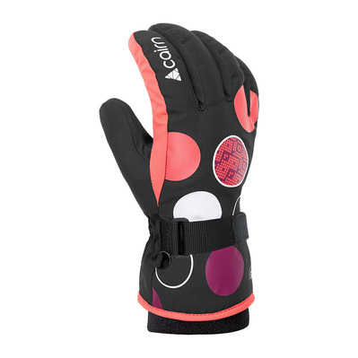 CAIRN - WIZAR CTEX - Gloves - Junior - black panthera coral