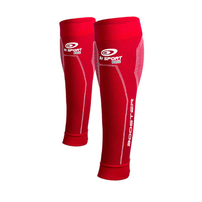 BV SPORT - BOOSTER ELITE - Kompressionsbeinlinge - red