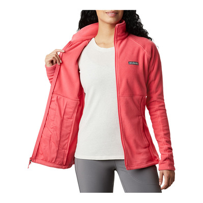 COLUMBIA - BASIN TRAIL™ II FULL ZIP - Sweatshirt - Frauen - bright geranium