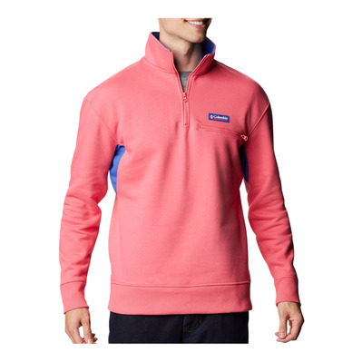 COLUMBIA - BUGASWEAT™ QUARTER ZIP - Sweatshirt - Männer - bright geranium/lap