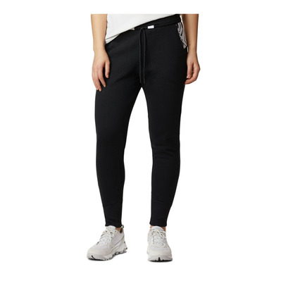 COLUMBIA - COLUMBIA LODGE™ KNIT JOGGER - Jogginghose - Frauen - black/white typo pr