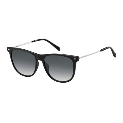 FOSSIL - 3090/G/S - Sunglasses - Women's - black/smoke