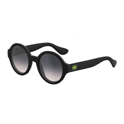 HAVAIANAS - FLORIPA - Sunglasses - Women's - black/smoke