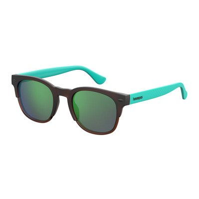 HAVAIANAS - ANGRA - Sunglasses - brown/turquoise/green