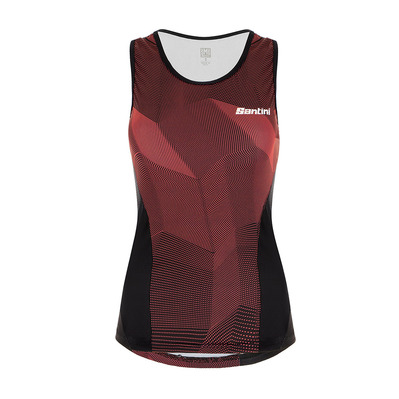 SANTINI - IMAGO TRI TOP - Tanktop - Frauen - atomic orange