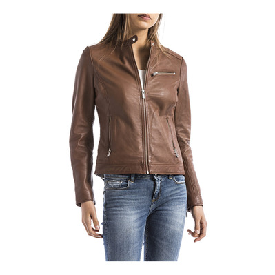 BLUE WELLFORD - PEARL - Bomber Jacket - Women's - cognac