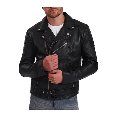 BLUE WELLFORD - DYLAN - Blouson - Männer - black