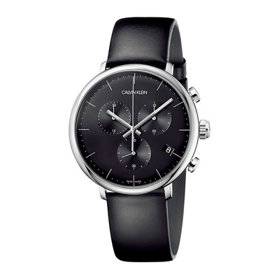 Calvin Klein - K8M271C1 - Chronograph Watch - Men's - black/black