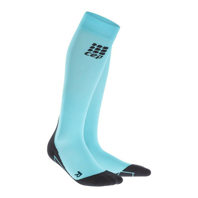 CEP - COMPRESSION SOCKS WP40K - Chaussettes de compression Femme burpee blue