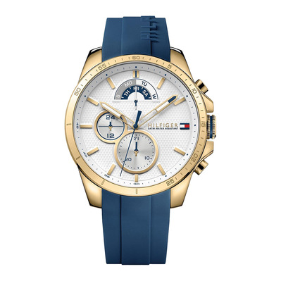Tommy Hilfiger - DECKER - Quartz Watch - Men's - blue