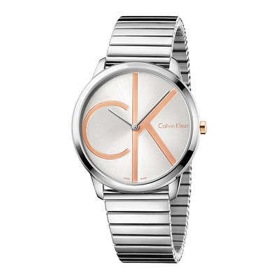 Calvin Klein - MINIMAL - Quartz Watch - Men's - silver