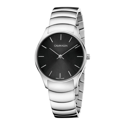 Calvin Klein - CLASSIC - Quartz Watch - Women's - silver