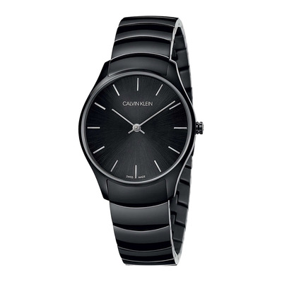 Calvin Klein - CLASSIC - Quartz Watch - Women's - black