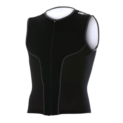 Z3ROD - ISINGLET - Tank Top Triathlon Männer Black Series