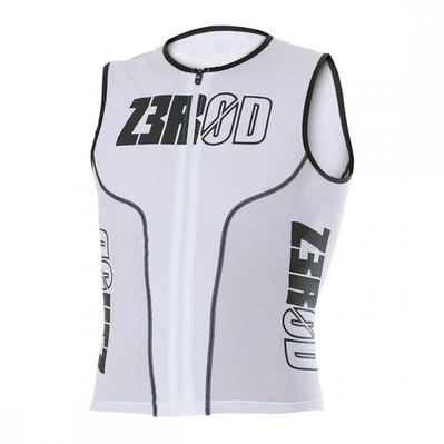 Z3ROD - ISINGLET - Triathlon Jersey - Men's - white armada