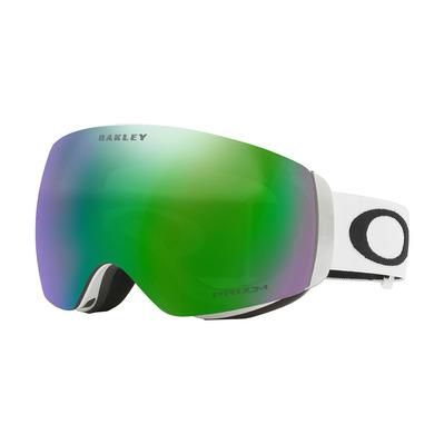 OAKLEY - FLIGHT DECK XM - Masque ski matte white/prizm jade iridium