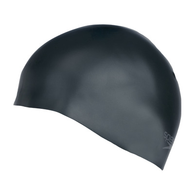 SPEEDO - PLAIN MOULDED - Gorro de natación black