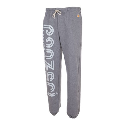 PANZERI - HOBBY L - Pantalón de chándal heather grey/white