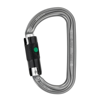 PETZL - AM'D BALL-LOCK - Mousqueton gris