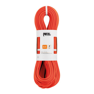 PETZL - ARIAL - Single Rope - 9.5mm orange
