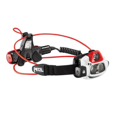 PETZL - NAO+ - Lampe frontale blanc/rouge/noir