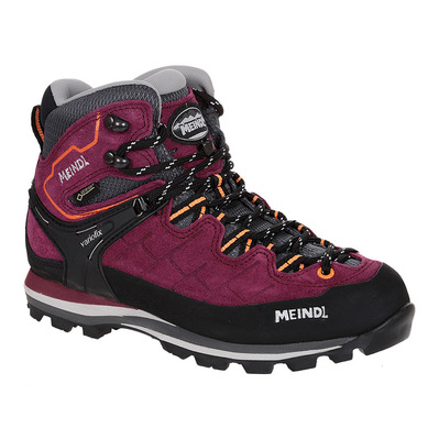 MEINDL - LITEPEAK GTX - Hiking Shoes - Women's - blackberry/orange