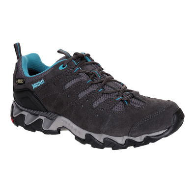 MEINDL - PORTLAND GTX - Hiking Shoes - Women's - grey/petrol blue