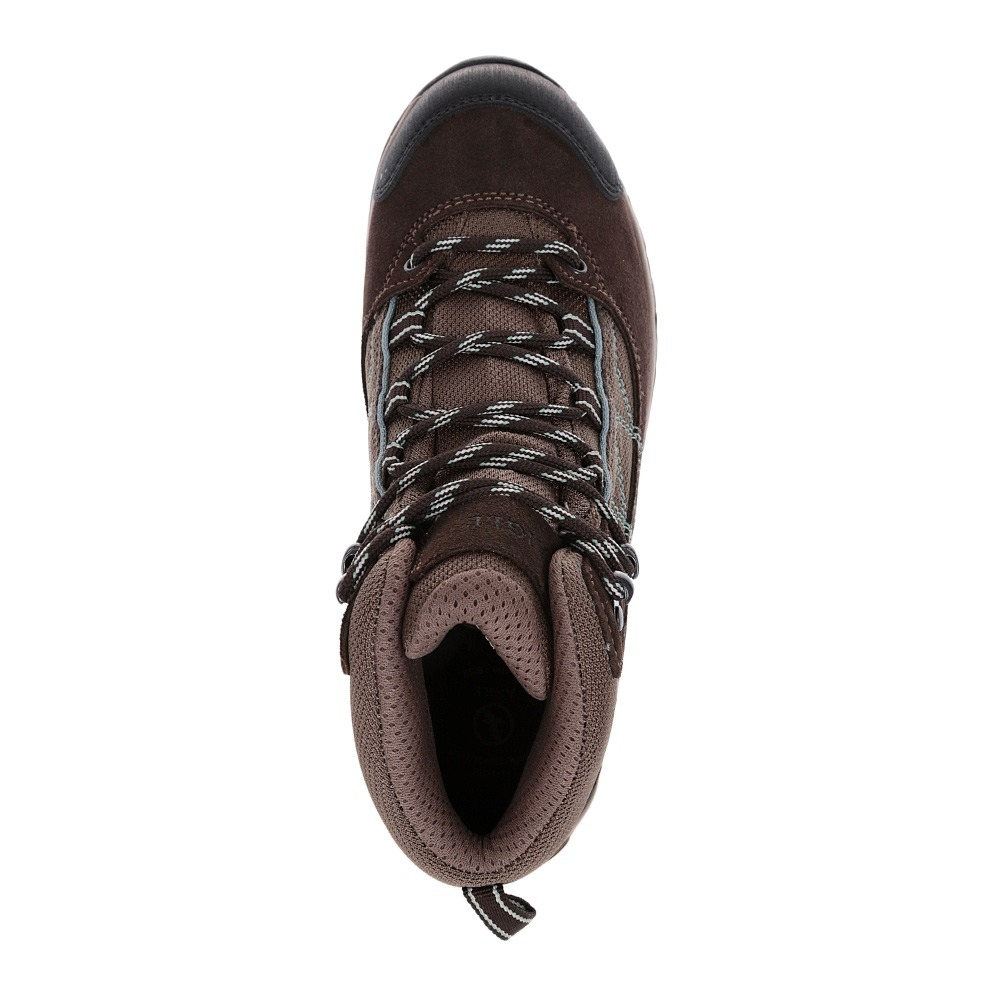 Chaussures randonnée femme MOOVEN MID GTX dark brownagave